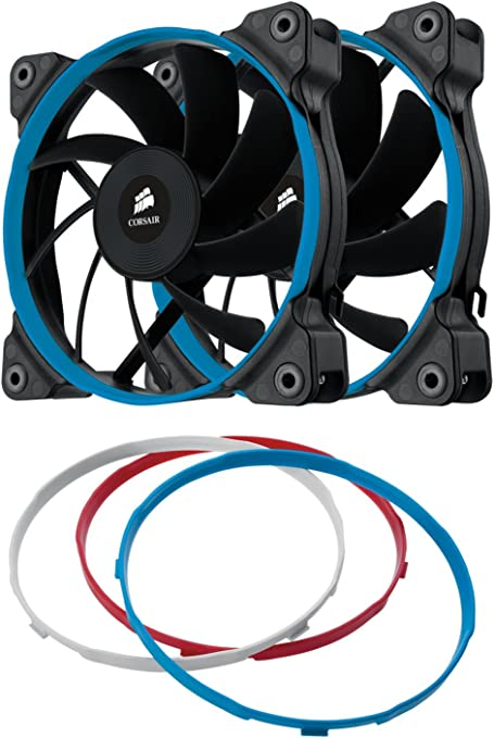 Corsair AF120 Quiet Edition Ventilador de PC (120 mm, Alto Flujo ...