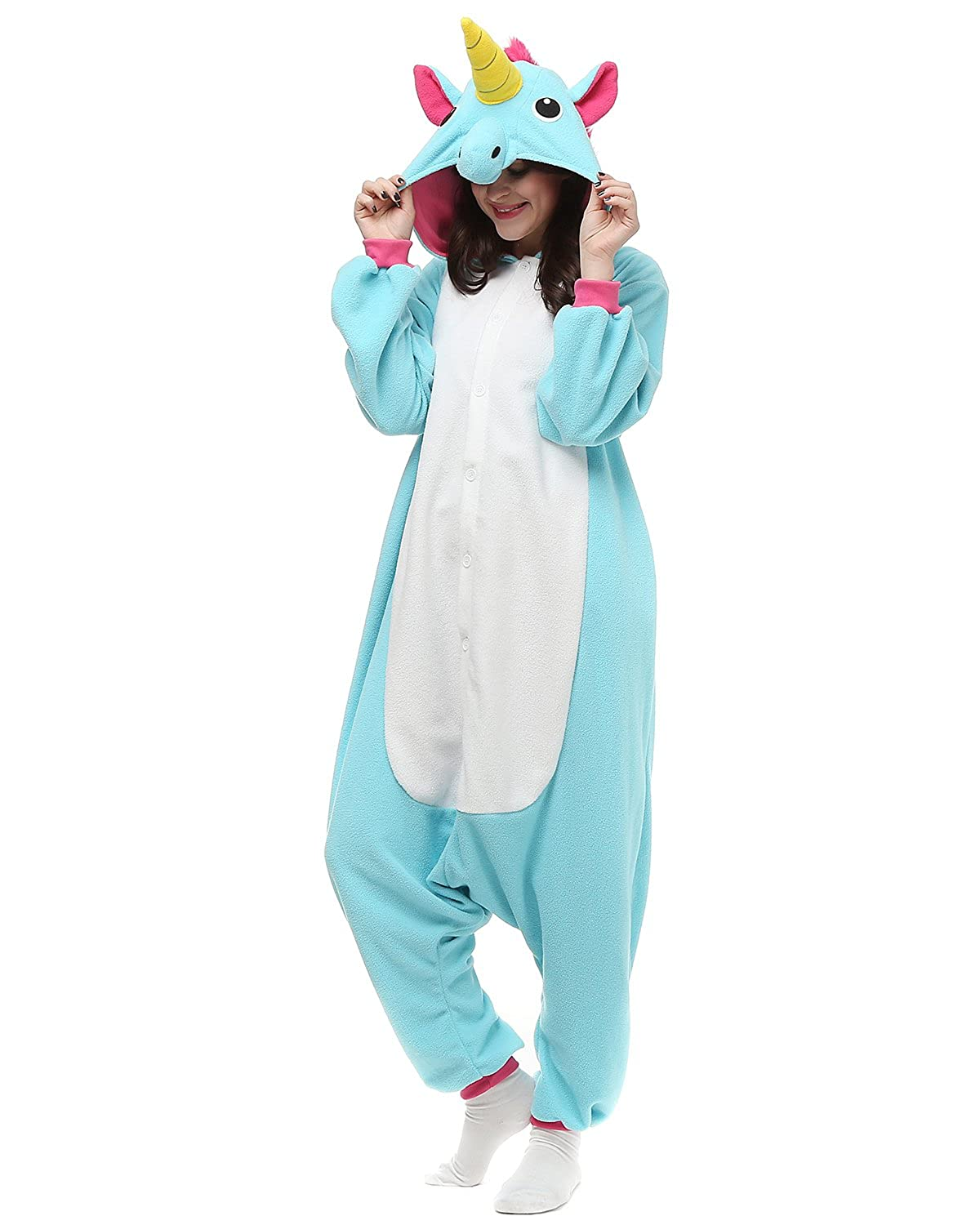 Amazon Hotu Adult Onesies Unicorn Pajamas Onesie For Women Men Costume Partywear Clothing