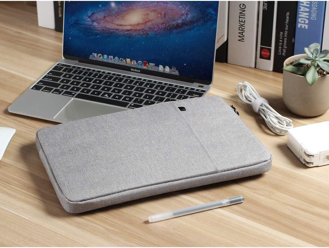 Apple 11 MacBook Air Gris oscuro 12 Surface Pro 3 Nidoo 11.6 pulgada Impermeable Classic Comfort Manga Ordenador Port/átil Bolsa Caja Cubierta Piel Protector Para Microsoft 12.3 Surface Pro 4