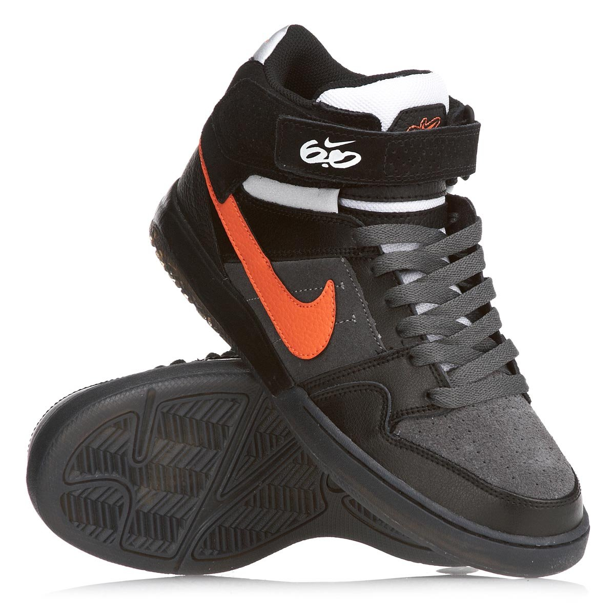 san francisco 9cbaf f0ada Nike 6.0 AIR MOGAN MID 2 Mens Shoes, black total orange dark grey, US 12,  EU 46, UK 11 Amazon.co.uk Shoes  Bags