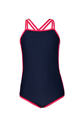 ab68bd2846 Mountain Warehouse Criss Cross Sporty Swimsuit - UPF50+ Quick Drying Fabric  with Sun Protection, Crisscross