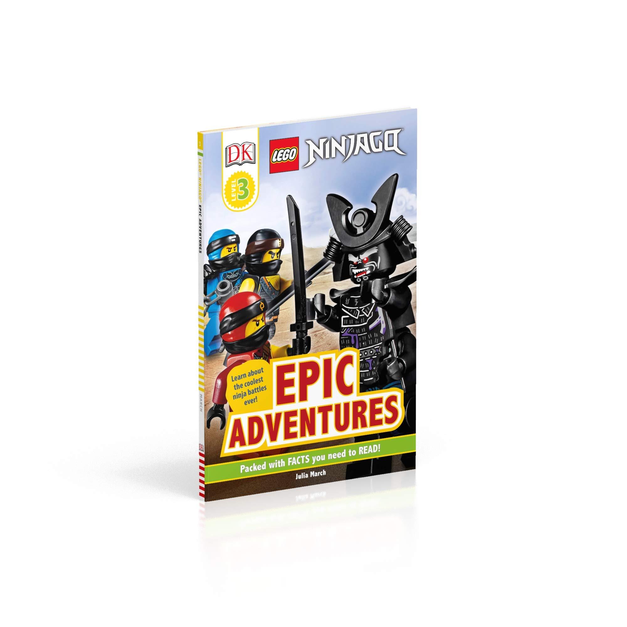 LEGO NINJAGO Epic Adventures (DK Readers Level 3): Amazon.es ...