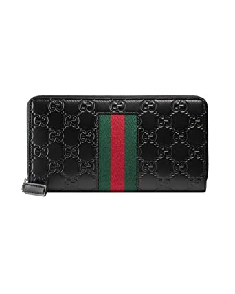 436dc3274bc5 GUCCI - Women's Leather Wallet GUCCISSIMA MARGAUX - black, One size ...