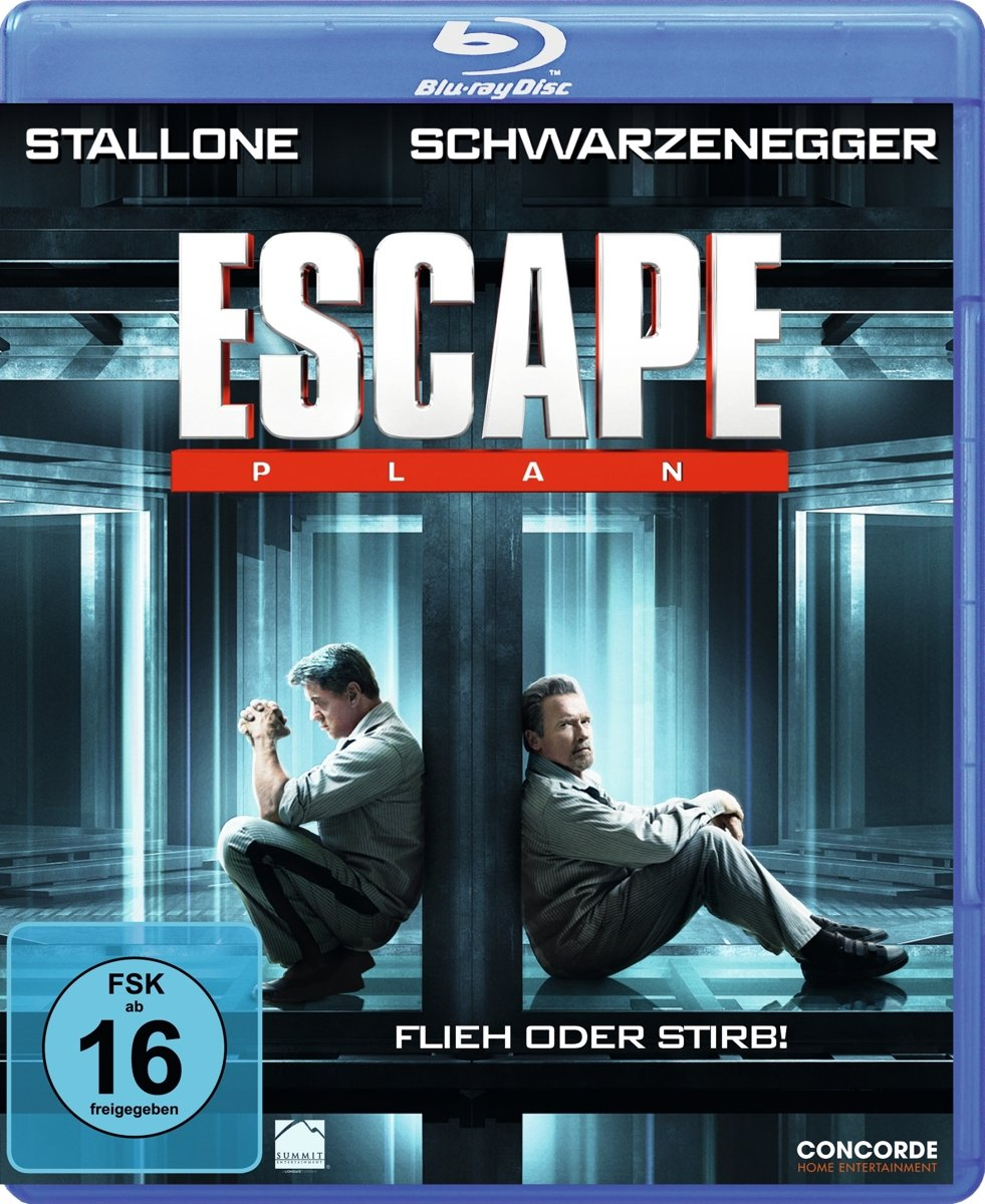 Escape Plan - Ultra HD Blu-ray [4k + Blu-ray Disc]