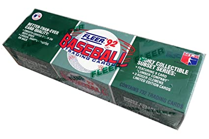 Amazoncom 1992 Fleer Baseball Cards Complete Factory Set