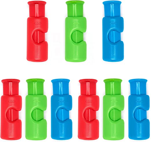 3 Pack Assorted Bright OXO Good Grips Bag Cinch