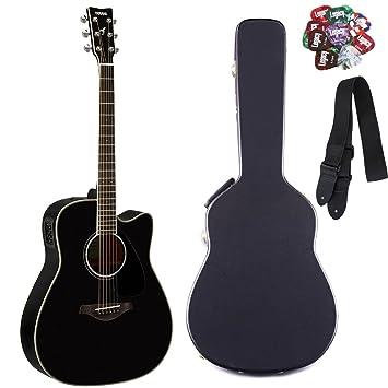 Yamaha fgx830 C Folk Guitarra acústica con cutaway guitarra ...