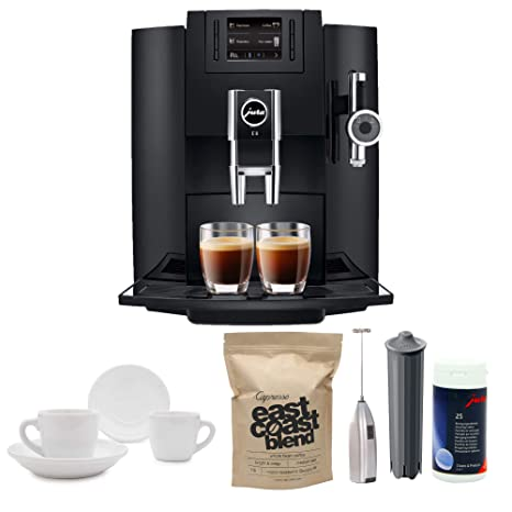 Amazon.com: Jura E8 Super automática espresso Machine + Jura ...