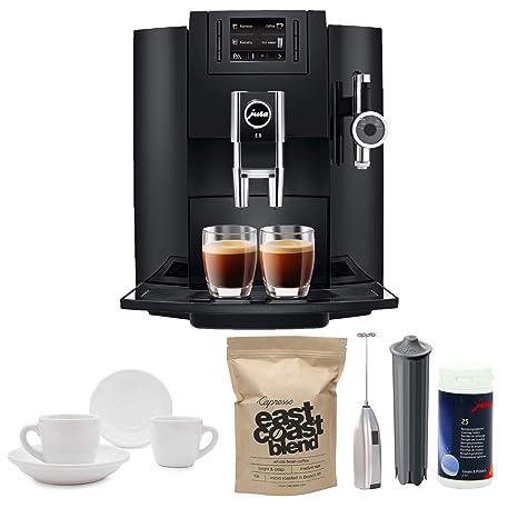 Amazon.com: Jura E8 Super automática espresso Machine + Jura ...