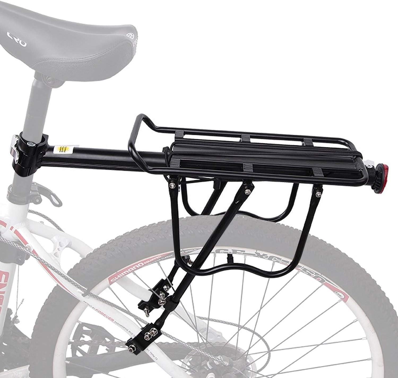 MTB Bike Back Rear Bag Pannier Rack Changable Seat Post Frame Carrier Holder
