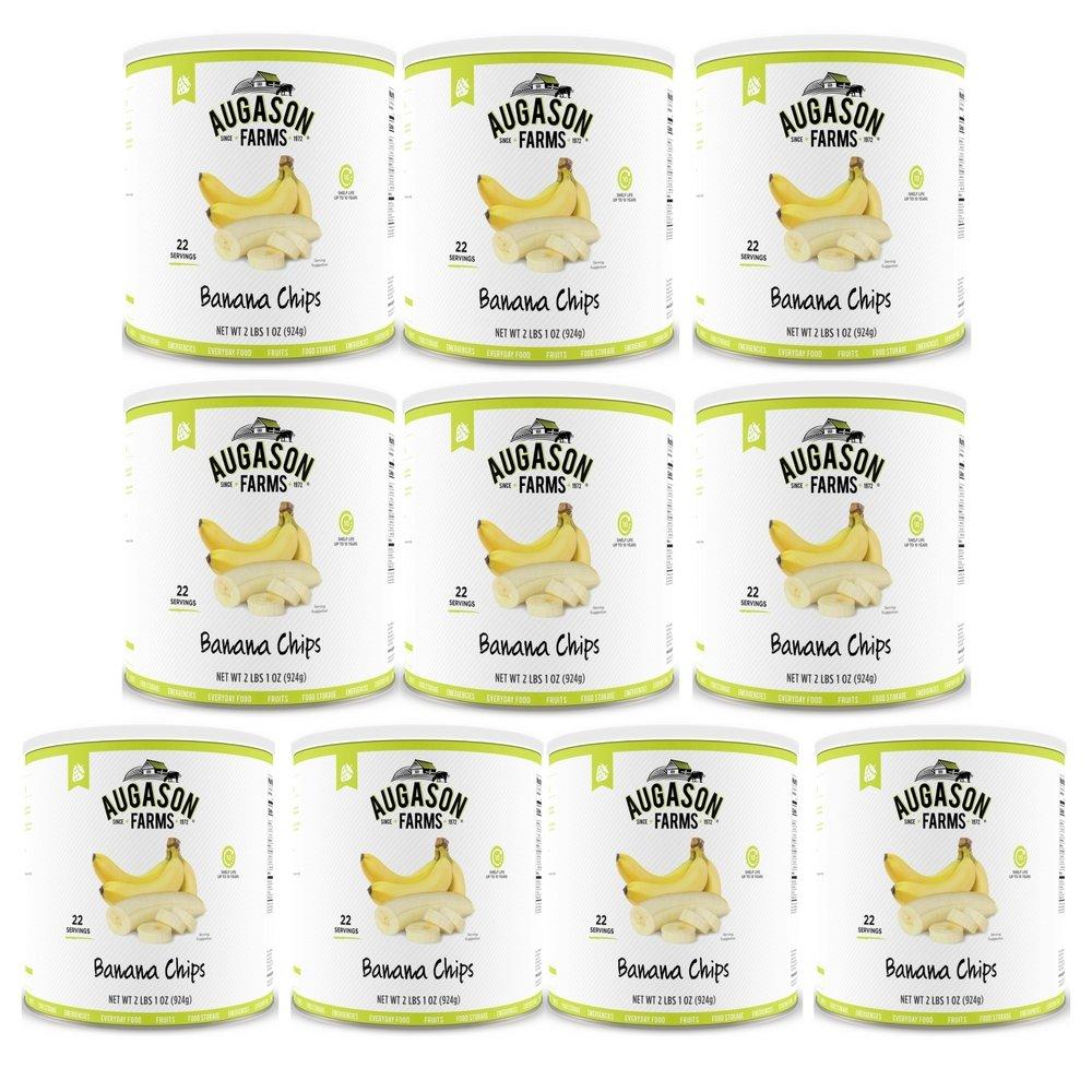 Augason Farms Banana Chips 2 lbs 1 oz No. 10 Can (3-(Pack)) by Augason Farms (Image #1)