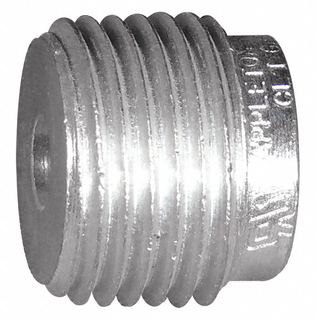 Reducing Bushing, Steel, Male to Female Connection, 1-1/2 to 1/2'' Conduit Size
