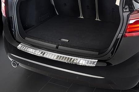 Sto/ßstangenschutz passgenau mit Abkantung ABS Farbe schwarz 09.2014 Aroba AR843 Ladekantenschutz kompatibel f/ür BMW 2er Active Tourer F45 ab BJ nur f/ür Fahrzeuge mit M Paket