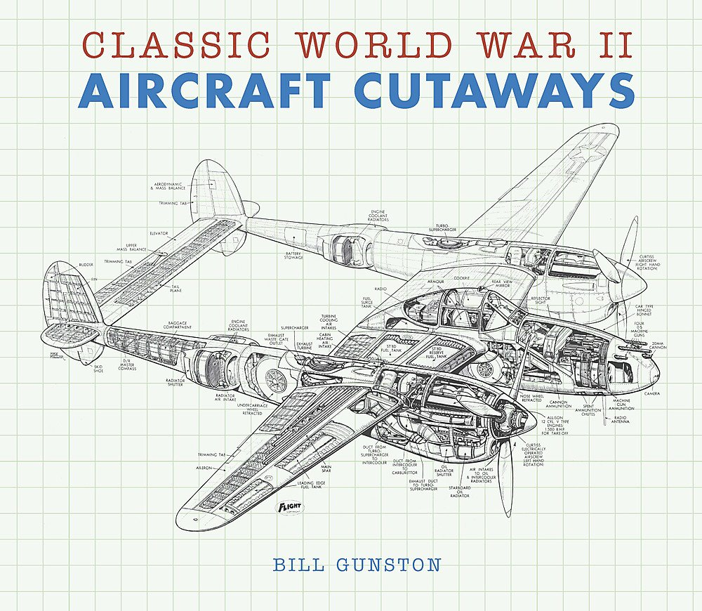 Classic World War Ii Aircraft Cutaways Transport Amazon Co Uk