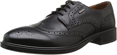 Geox U Yoris A ABX A, Zapatos de Cordones Hombre