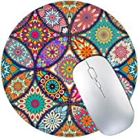 2 PACK Mouse Pad, Personalized Printed Mouse Mat, Non-Slip Rubber Base Mousepad for Laptop, Computer 200mm x 200mm