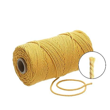 4 Farben 5 meter Baumwoll Kordel 6 mm 0,90€//m