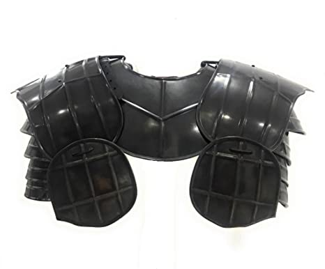 NAUTICALMART Armor Medieval Dark Drake Pauldrons - Armadura ...