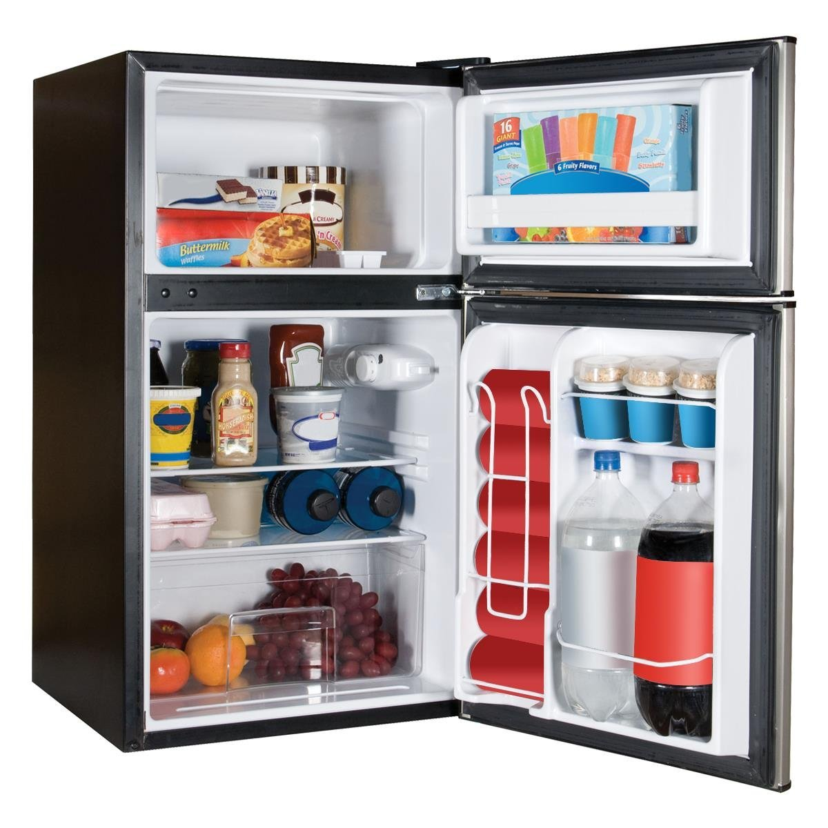 Top Mount Refrigerator/Freezer, Stainless Steel: Amazon.ca: Electronics Part 33
