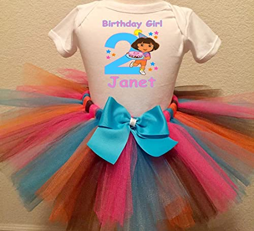Dora Birthday Set Dora Tutu Set