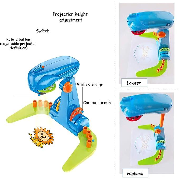 Infantil de Dibujo del Proyector Juguetes Dibujo Proyectores ...
