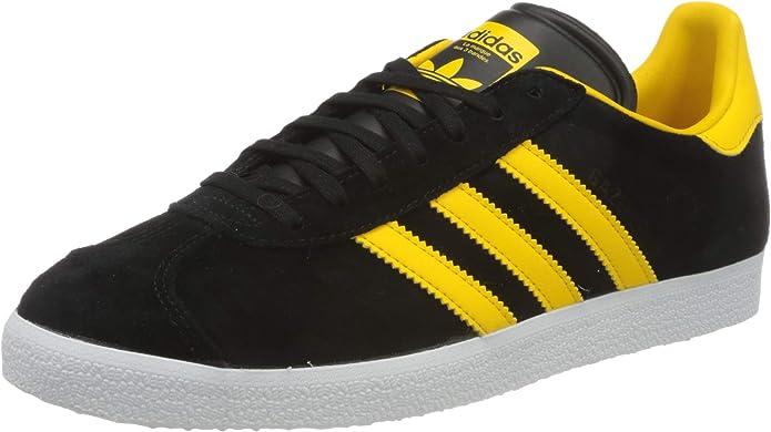 adidas gazelle noir et jaune