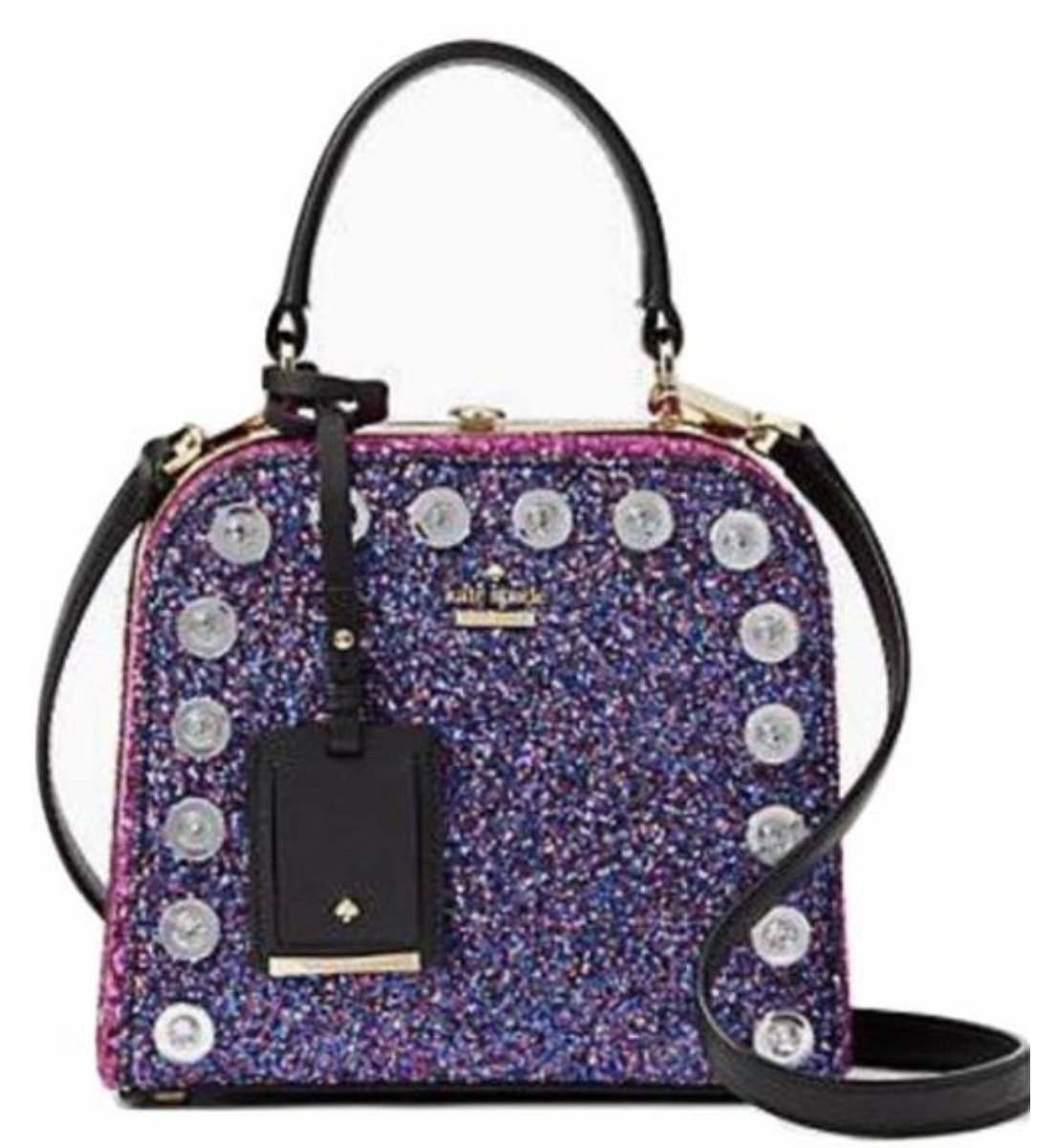 Kate Spade Violina Skyline Way Crossbody Glitter Pink Handbag by Kate Spade New York