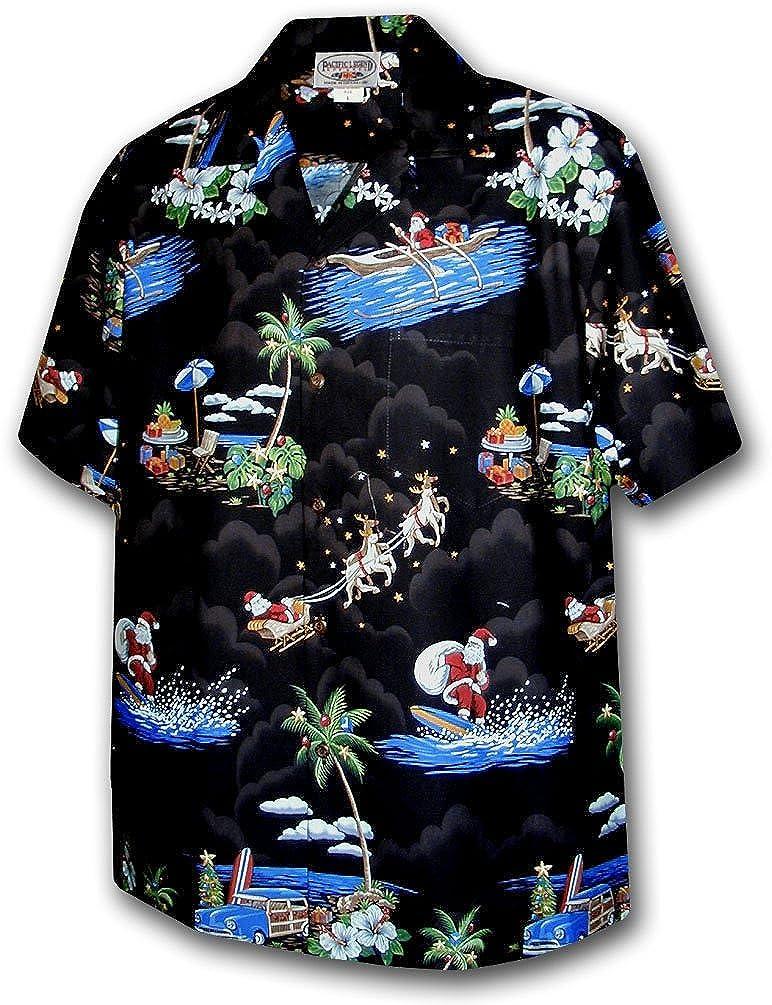 Santa Christmas Hawaiian Print Shirts