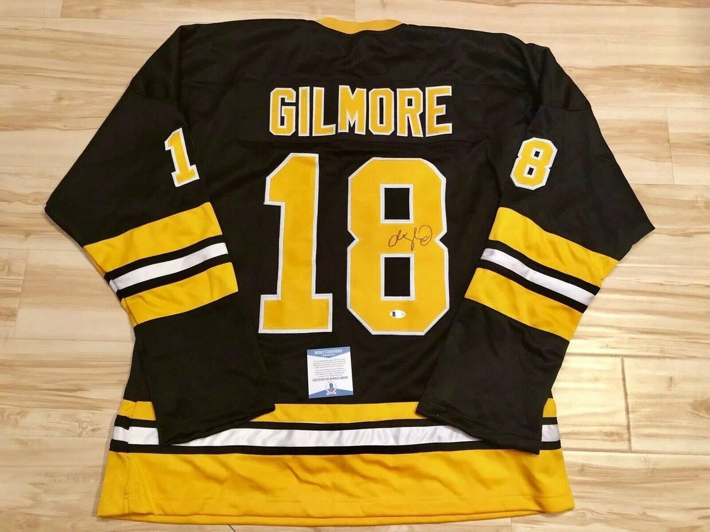 release date f55b0 56491 Adam Sandler Autographed Signed Memorabilia Boston Bruins ...