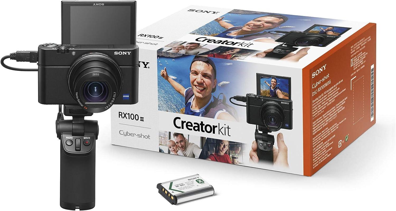 Sony Rx100 Iii Creator Kit Premium Kompaktkamera Mit Kamera