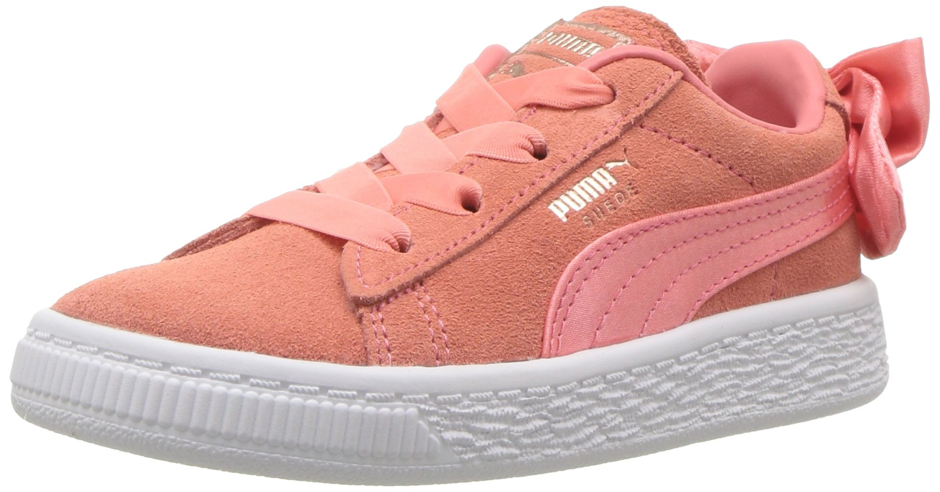 Galleon - PUMA Baby Suede Bow Slip On Sneaker a5c1b4070