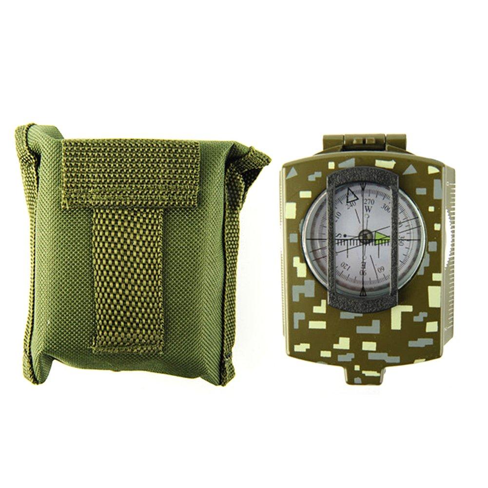 LB trading - Detector de Metales Impermeable portátil con Kit de brújula para Principiantes en Interiores y Exteriores, 0.37, Color Army Green: Amazon.es: ...