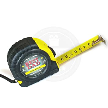 Moreton Gifts Best Dad Tape Measure Gift Box - The Perfect Gift For Dad This Fathers