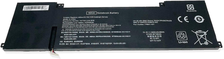 CBK Battery for HP Omen 15-5001NA 15-5001NS 15-5010NR 15-5010TX 15-5013TX 15-5011TX 15-5019TX 15-5113TX 15-5208TX RR04 RR04XL 778951-421 778978-005 HSTNN-LB6N