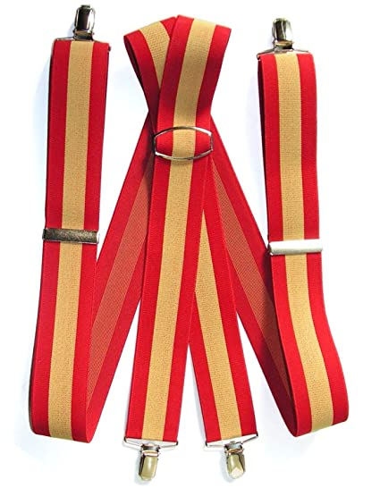 GLOSAN Tirante Bandera Española 40 adulto: Amazon.es: Ropa y ...