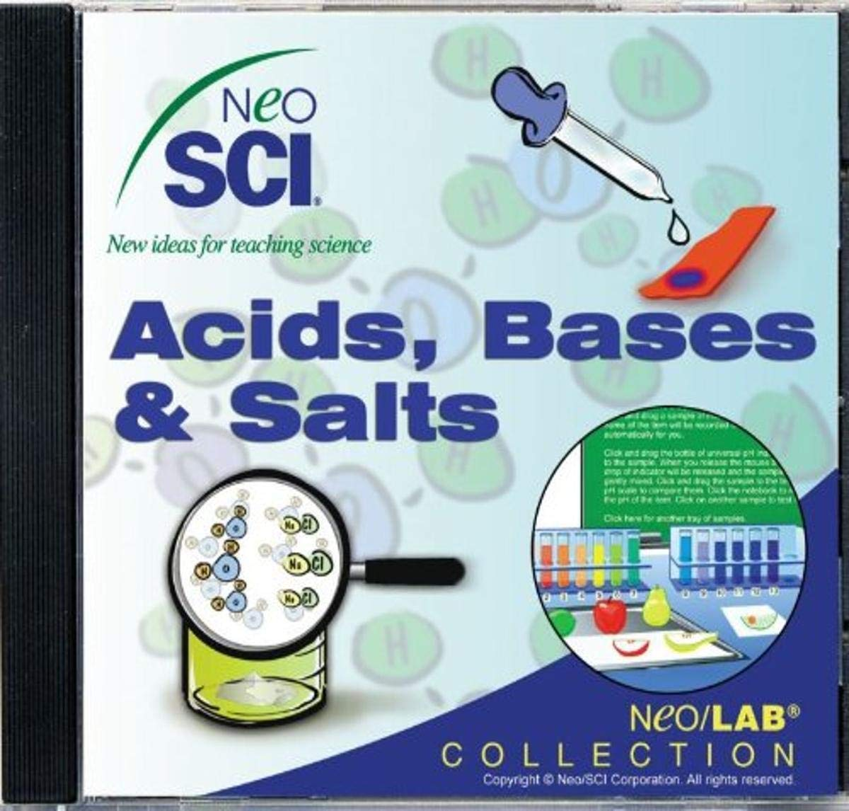 Network License Neo//SCI Acids Bases /& Salts Middle School Neo//LAB Software