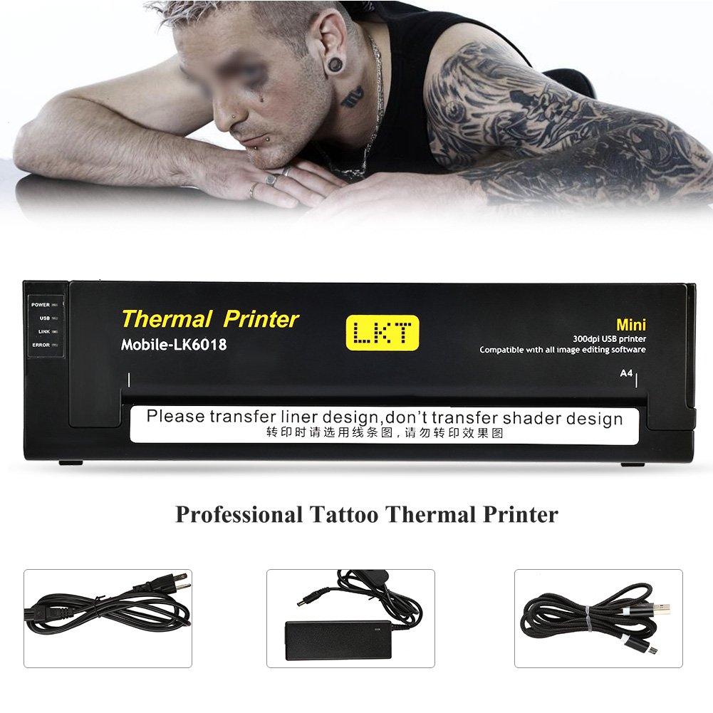 Máquina de transferencia de tatuaje térmico impresora de tatuaje ...