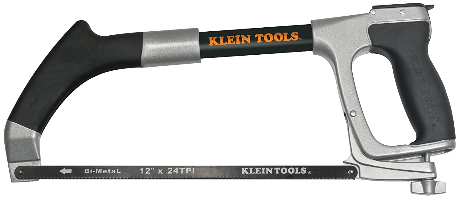 Klein tools 702 12 hacksaw with 12 inch blade and 6 inch klein tools 702 12 hacksaw with 12 inch blade and 6 inch reciprocating blade amazon greentooth Choice Image