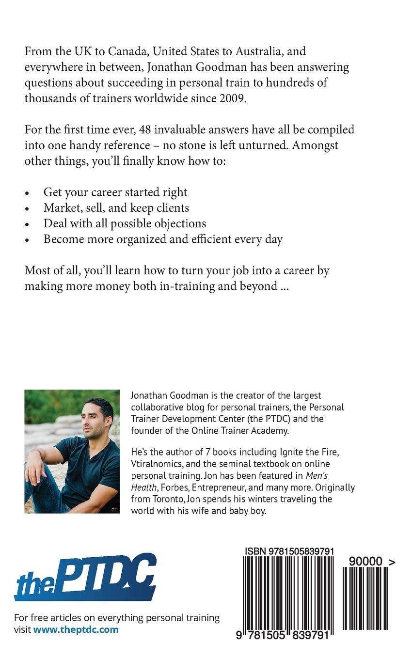 Personal Trainer Pocketbook A Handy Reference for All Your Daily Questions