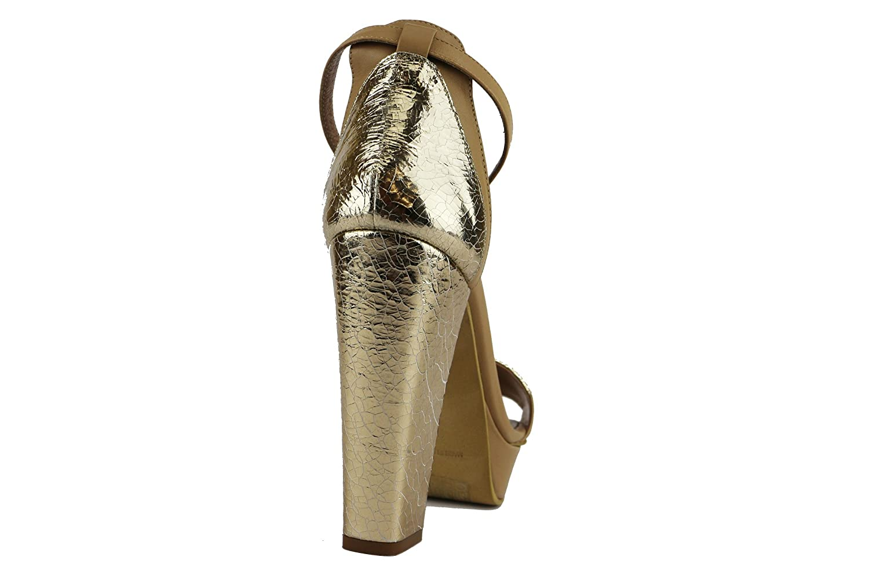 MY COCHO Sandalen Sandalen Sandalen Damen Leder beige 519cbc