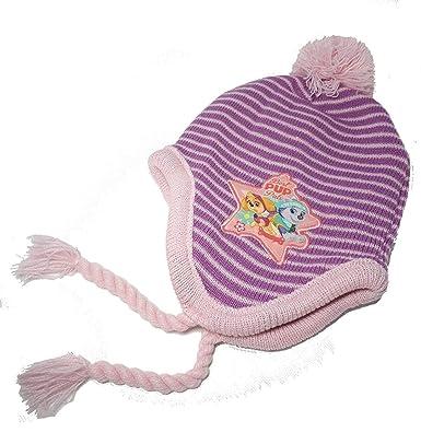 Nickelodeon Pat Patrouille Bonnet péruvien Fille - Violet  Amazon.fr ... 713db7a514f