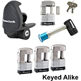 Master Lock - 6 Trailer Locks Keyed Alike 6KA-37937-37