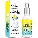 Lumanere Hair Growth Serum Hair Growth Oil for Stronger, Thicker, Longer Hair for Men and Women 1.7 Oz