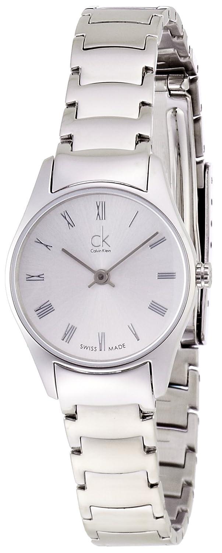 Calvin Klein Damen-Armbanduhr XS ck classic Analog Quarz Edelstahl K4D2314Z