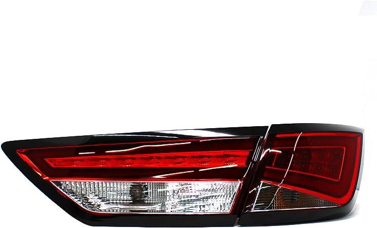 Folie Für Rückleuchte Umrahmung Umrandung Foliendekor Selbstklebend Rücklicht Aufkleber Kfz Beleuchtung D104 5f St Auto