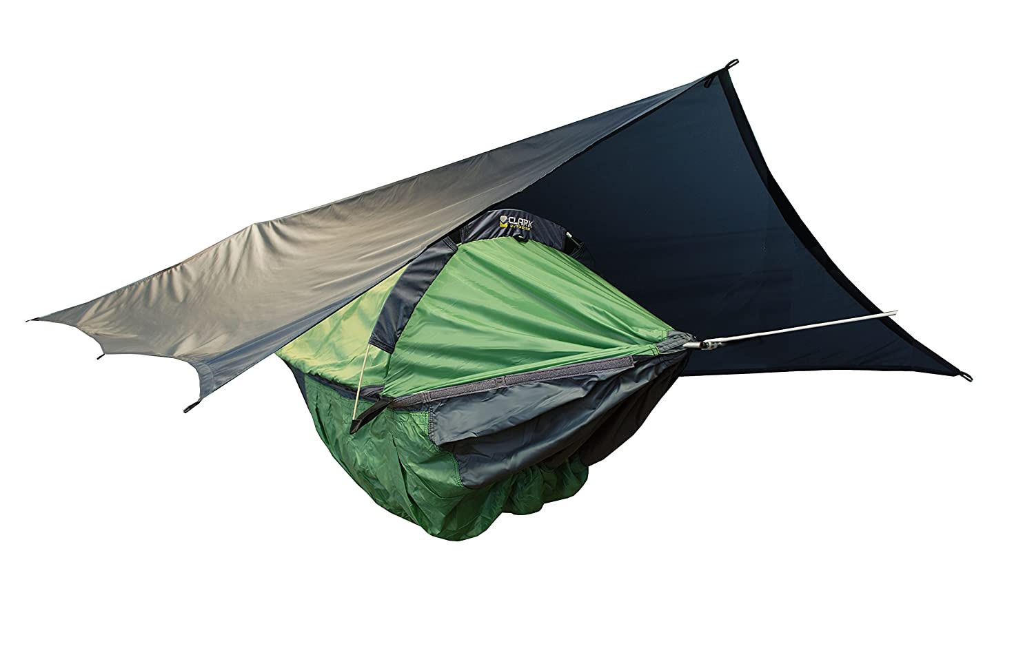 Amazon.com Clark NX-270 Four-Season C&ing Hammock (Mountain Green) Sports u0026 Outdoors  sc 1 st  Amazon.com & Amazon.com: Clark NX-270 Four-Season Camping Hammock (Mountain Green ...