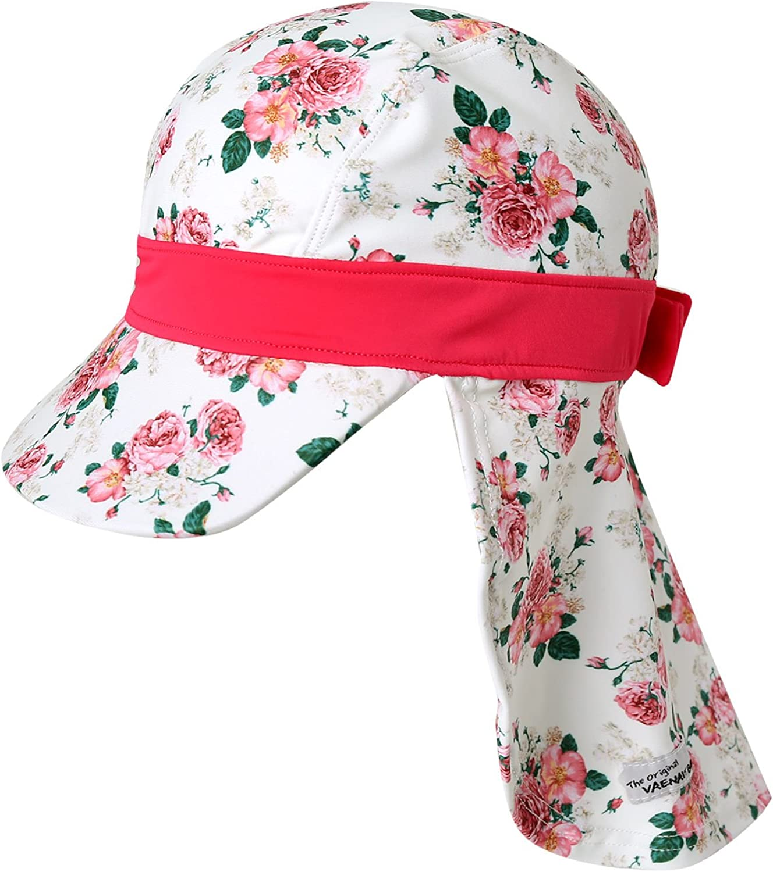 Vaenait Baby Infant /& Kids Girls Sun protection Sporty Flap Swim hat UV Flap Cap