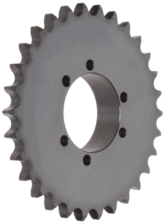 Single Strand QD Design #60 ANSI No. SK Bushing Required 26 Teeth 3//4 Pitch 3//4 Pitch Tsubaki 60SK26 Roller Chain Sprocket