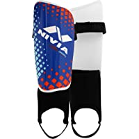 Nivia Speedy with Ankle Adjustable Shin Guard