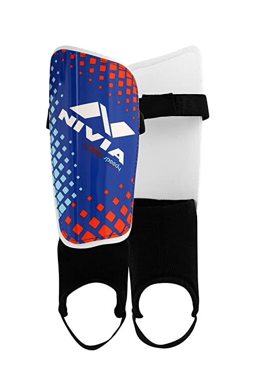 243eafc2a835 Buy Nivia Speedy with Ankle Adjustable Shin Guard Online at Low Prices in  India - Amazon.in